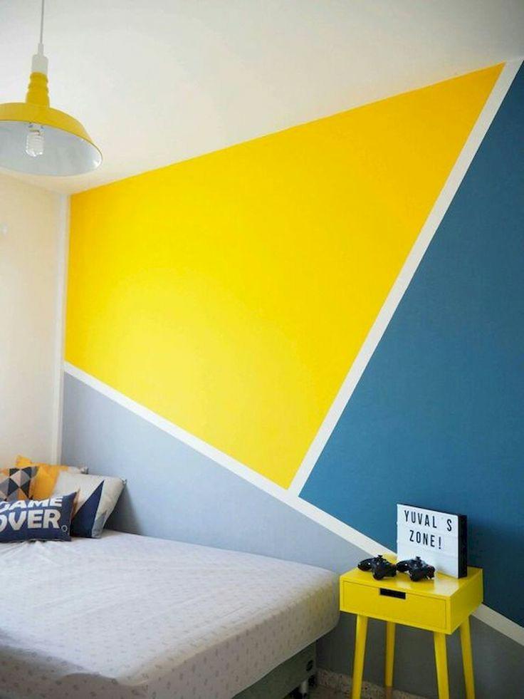 رنگ امیزی دیوار